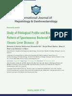International Journal of Hepatology & Gastroenterology