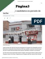 Diez Listas de Candidatos en Periodo de Tacha _ Página3