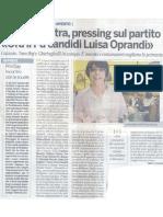 La Provincia - 2010-11-21 Conf Stampa