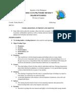 Ichthyology Report