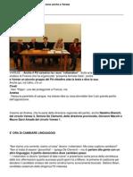 VareseNotizie - 20 Novembre 2010 Conf. Stampa