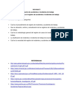 Actividad 2 Investigacion de Incidentes y Accidentes de Trabajo - Documentos Para El Registro de Accidentes e Incidentes de Trabajo