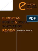 European Public and Sosial Innovation Review