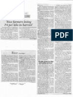 Philippine Star, Nov. 25, 2019, Rice farmers losing P4 per kilo in harvest.pdf