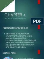CHAPTER 4 Tourism Entrepreneur