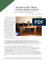 VareseNews - 20 Novembre 2010, Conf. Stampa