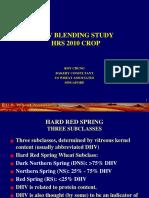 DHV Blending Study