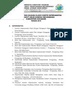 Daftar Referensi Asuhan Klinis Komite Keperawatan Komkep Jadi
