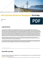SAP Extended Warehouse Management Road Map