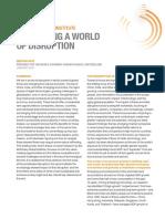 MGI Briefing Note Navigating a World of Disruption Jan 2019