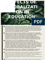 Effects of Globalization in Education (3) [Autosaved]