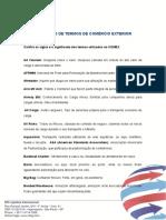 Dicionário de Termos de Comércio Exterior