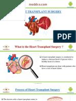 Best Heart Transplant Surgery  Treatement Packeges |Meddco