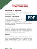 Programas Didactico y de Consulta