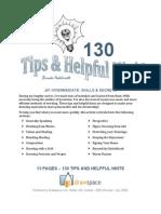 com J01 - 130 Tips & Helpful Hints