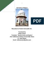 Sufi Saints of Bijapur