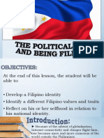 Chapter 8- Political Self and Being Filipino