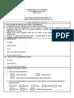 Application Form (OTS - 001).doc