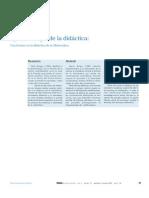 Epistemologia y Didactica de la matematica