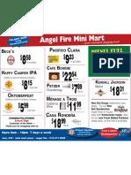 Angel Fire Mini Mart Specials 11/22/2010
