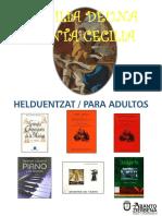 Zezilia Deunaren erakusketa / Exposición de Santa Cecilia