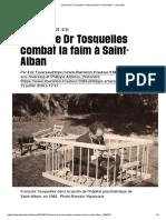 Quand Le Dr Tosquelles Combat La Faim à Saint-Alban - Libération