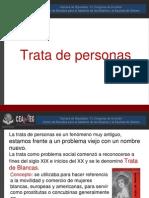 Trata de Personas - Mtra. Ángeles Corte