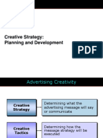 Creative Strategy-planning and Dev