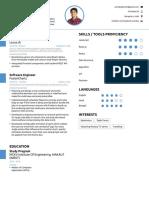 Anindya's Resume