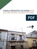 Informe Pobreza Energética 2018