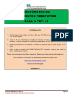 Chutômetro Do Trt 15 - @Concurseiroestupido