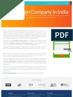 Web Design Services in India