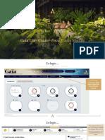 Gaia User Guide Food Waste Module