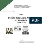 Lucha Armada en Venezuela