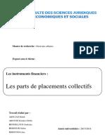 Parts de Placements Collectifs