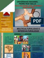 Multiculturalidad e Interclturalidad