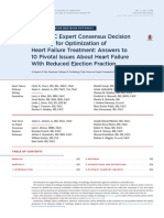 Expert Consensus Decision Pathway for optimization of heart failure treatment