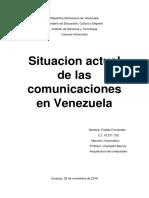 situacion actual de las comunicaciones en Venezuela.docx
