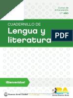 Lengua y Literatura Curso de Articulacion