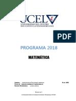 05 - Matematica 2018