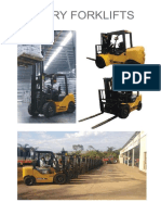 Chery Forklifts Brochure