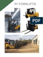 Chery Forklifts Brochure