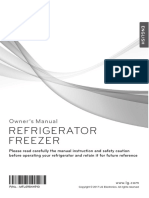 lg refrigeration manual