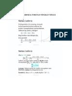 Notasi Lebniz & Turunan Tingkat Tinggi, Turunan Implisit, Laju Yang Berkaitan