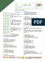 ★ Loteria Gramatical - Regência verbal.docx
