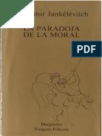 la paradoja de lo moral
