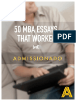 Admissioando 50 MBA Essays That Worked Vol3 Preview