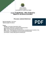 Contestação da Procuradoria Estadual de Mato Grosso do Sul (Modelo)