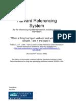 Harvard System Handbook