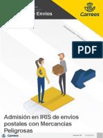 Admisión de Envíos Postales en IRIS Con MMPP_28.05.2019